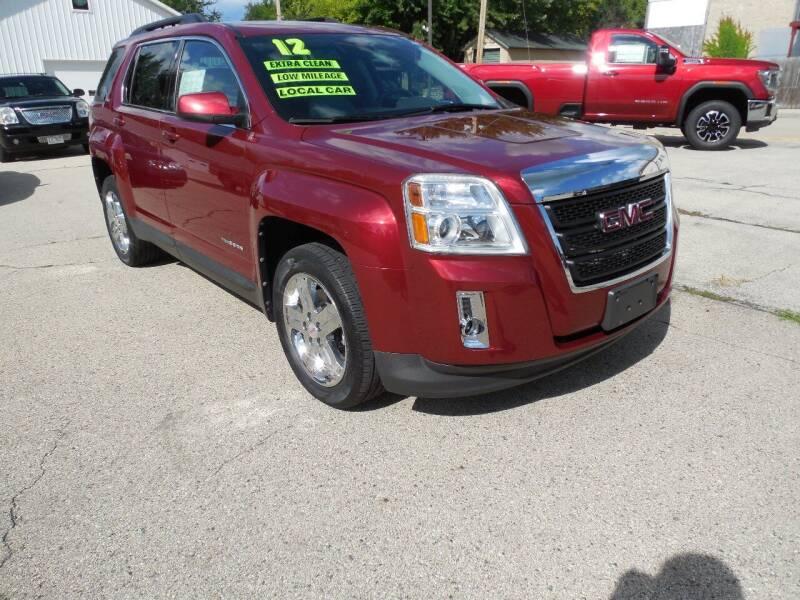 2012 GMC Terrain for sale at Streich Motors Inc in Fox Lake WI