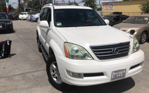 2006 Lexus GX 470 for sale at Golden Gate Auto Sales in Stockton CA