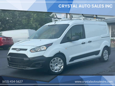 2015 Ford Transit Connect Cargo for sale at Crystal Auto Sales Inc in Nashville TN