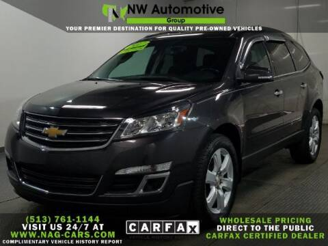 2017 Chevrolet Traverse for sale at NW Automotive Group in Cincinnati OH