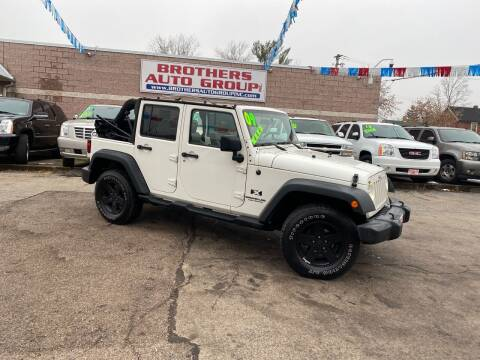2009 Jeep Wrangler Unlimited for sale at Brothers Auto Group in Youngstown OH