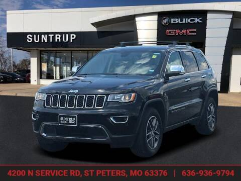 2018 Jeep Grand Cherokee for sale at SUNTRUP BUICK GMC in Saint Peters MO