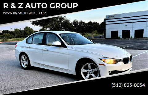 2014 BMW 3 Series for sale at R & Z AUTO GROUP in Austin TX