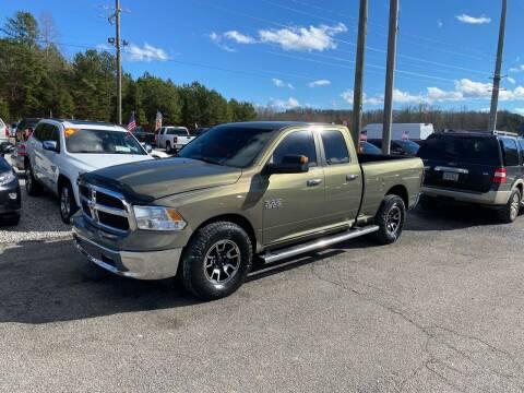 2013 RAM Ram Pickup 1500 for sale at Billy Ballew Motorsports in Dawsonville GA