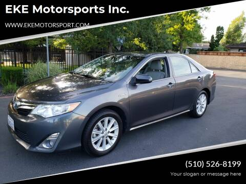 2013 Toyota Camry Hybrid for sale at EKE Motorsports Inc. in El Cerrito CA