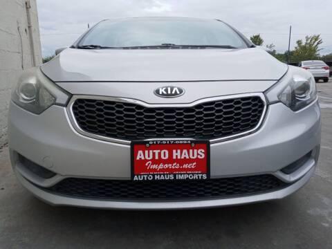 2016 Kia Forte for sale at Auto Haus Imports in Grand Prairie TX