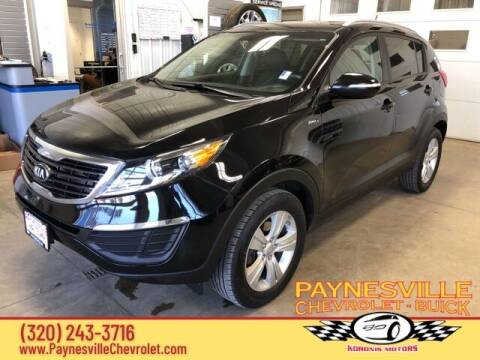 2013 Kia Sportage for sale at Paynesville Chevrolet - Buick in Paynesville MN