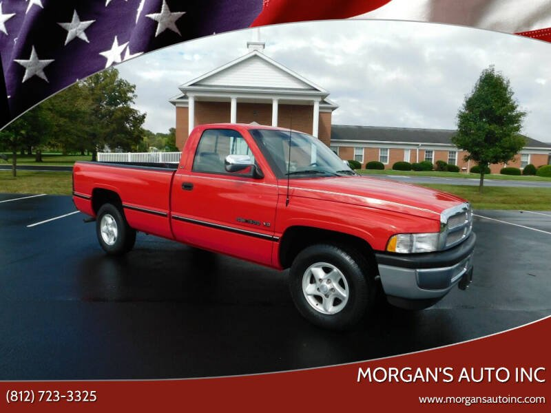 1996 Dodge Ram Pickup 1500 for sale at Morgan's Auto Inc in Paoli IN