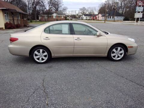 2005 Lexus ES 330 for sale at A-1 Auto Sales in Anderson SC
