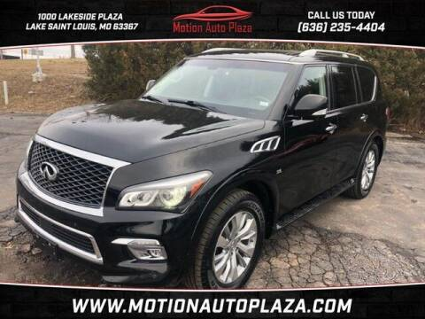 2016 Infiniti QX80 for sale at Motion Auto Plaza in Lakeside MO