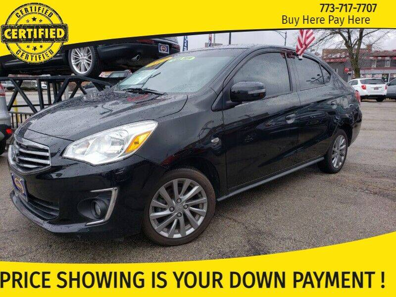 2019 Mitsubishi Mirage G4 for sale at AutoBank in Chicago IL