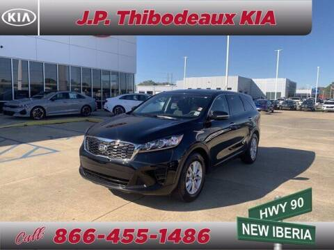 2020 Kia Sorento for sale at J P Thibodeaux Used Cars in New Iberia LA