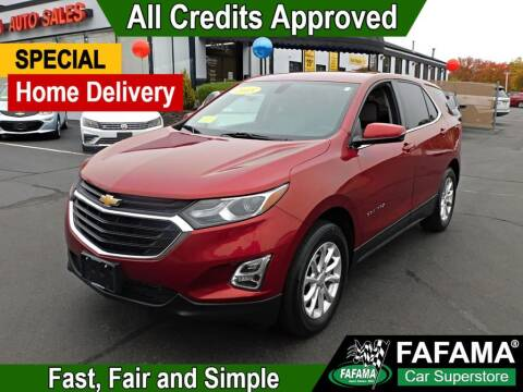 2018 Chevrolet Equinox for sale at FAFAMA AUTO SALES Inc in Milford MA