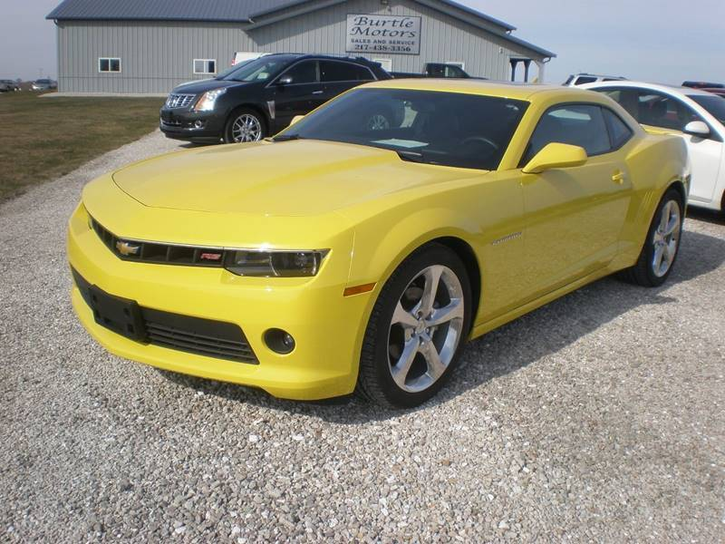 2014 Chevrolet Camaro for sale at Burtle Motors in Auburn IL