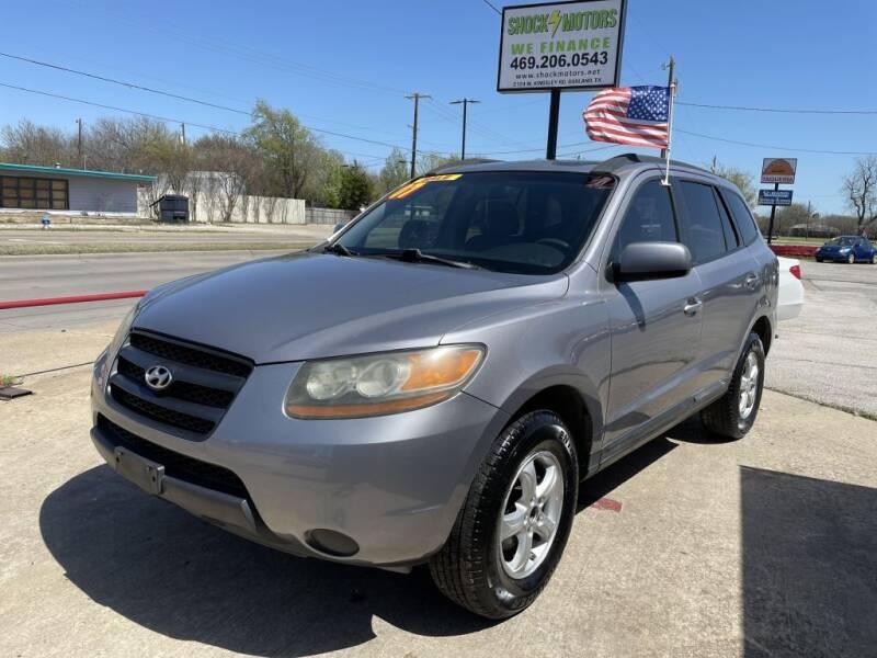 2008 Hyundai Santa Fe for sale at Shock Motors in Garland TX