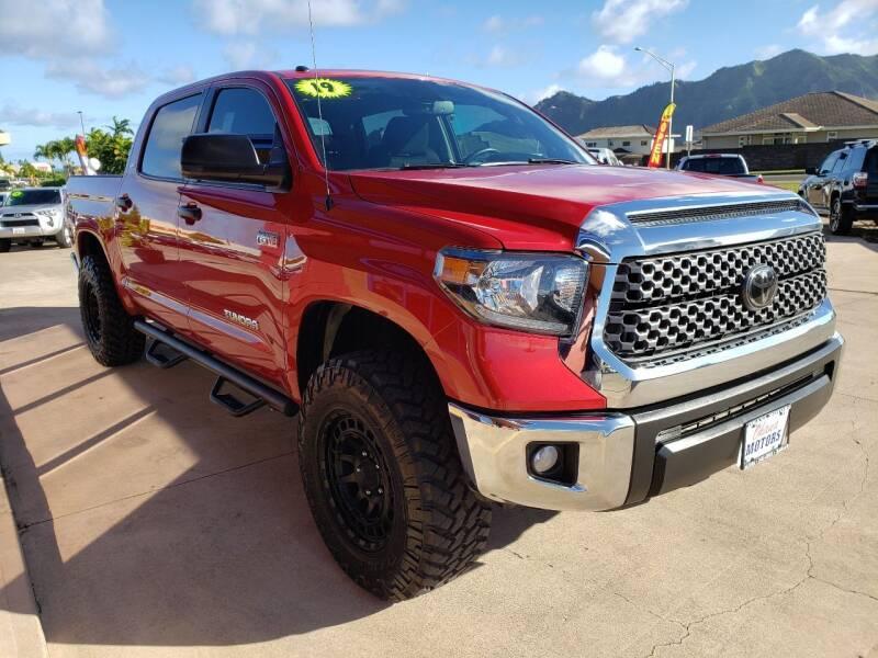2019 Toyota Tundra for sale at Ohana Motors in Lihue HI