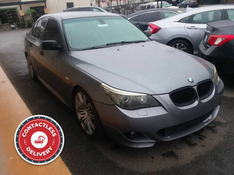 2008 BMW 5 Series for sale at ZOOM CARS LLC in Sylmar CA
