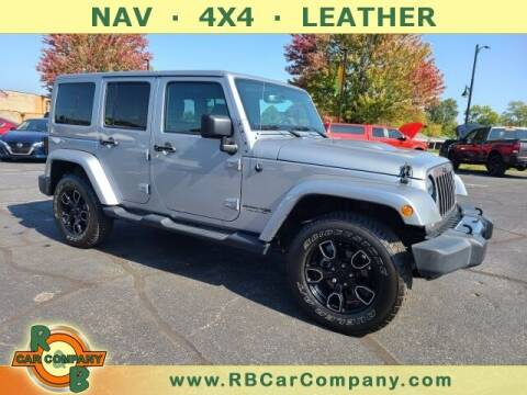 2018 Jeep Wrangler JK Unlimited for sale at R & B Car Company in South Bend IN