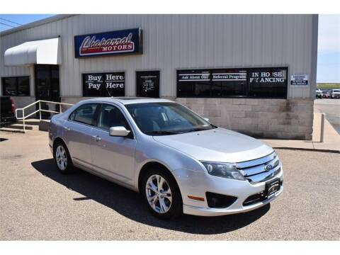 2012 Ford Fusion for sale at Chaparral Motors in Lubbock TX
