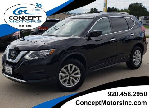 2019 Nissan Rogue for sale at CONCEPT MOTORS INC in Sheboygan WI