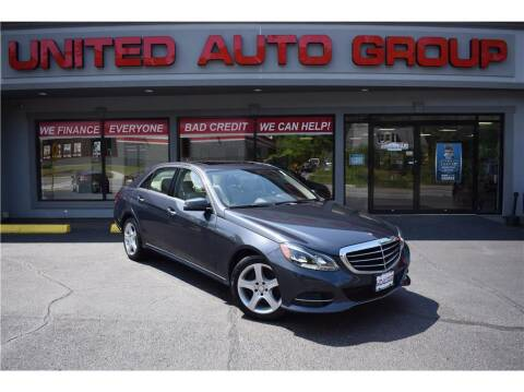 2015 Mercedes-Benz E-Class for sale at United Auto Group in Putnam CT