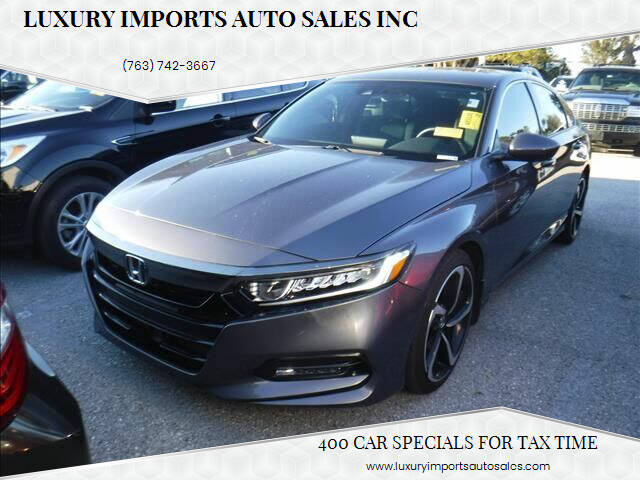 2018 Honda Accord for sale at LUXURY IMPORTS AUTO SALES INC in North Branch MN