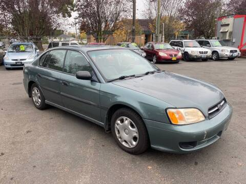 2001 Subaru Legacy for sale at Blue Line Auto Group in Portland OR