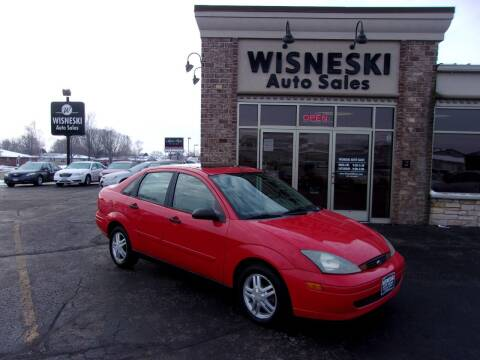 2004 Ford Focus for sale at Wisneski Auto Sales, Inc. in Green Bay WI