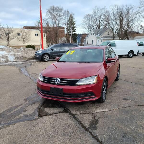 2017 Volkswagen Jetta for sale at Bibian Brothers Auto Sales & Service in Joliet IL