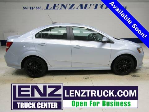 2017 Chevrolet Sonic for sale at LENZ TRUCK CENTER in Fond Du Lac WI