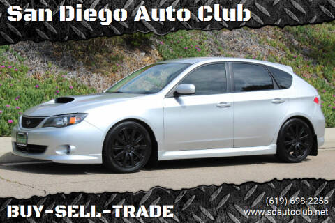 2008 Subaru Impreza for sale at San Diego Auto Club in Spring Valley CA