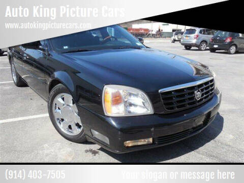 2000 Cadillac DeVille for sale at Auto King Picture Cars in Westchester County NY