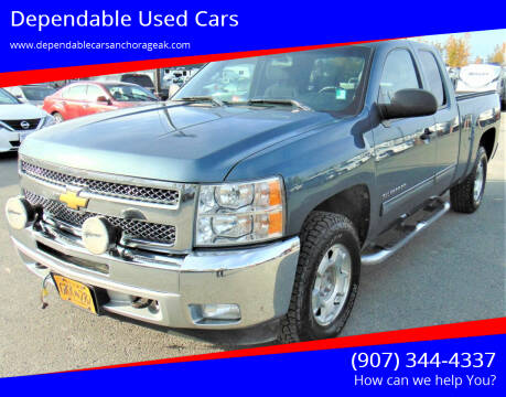 2012 Chevrolet Silverado 1500 for sale at Dependable Used Cars in Anchorage AK