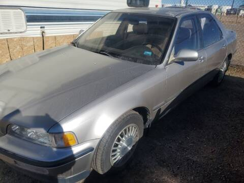 1992 Acura Legend for sale at PYRAMID MOTORS - Fountain Lot in Fountain CO