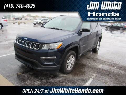 2018 Jeep Compass for sale at The Credit Miracle Network Team at Jim White Honda in Maumee OH