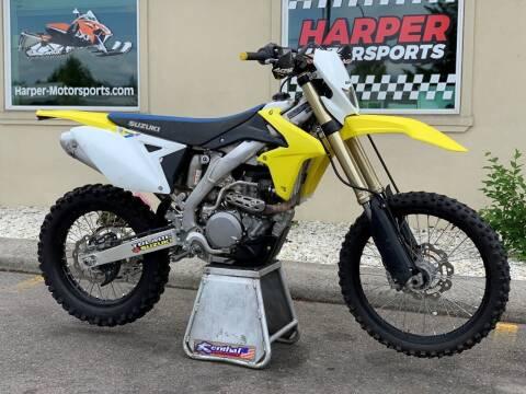 2018 Suzuki RMX450Z for sale at Harper Motorsports-Powersports in Post Falls ID