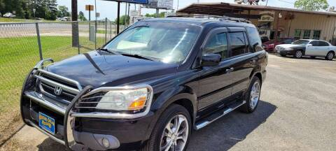 2004 Honda Pilot for sale at COLLECTABLE-CARS LLC in Nacogdoches TX
