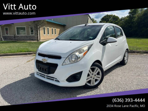 2014 Chevrolet Spark for sale at Vitt Auto in Pacific MO