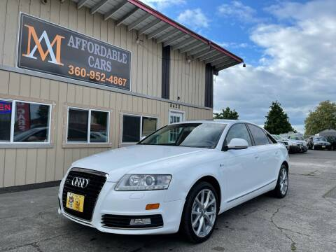 2010 Audi A6 for sale at M & A Affordable Cars in Vancouver WA