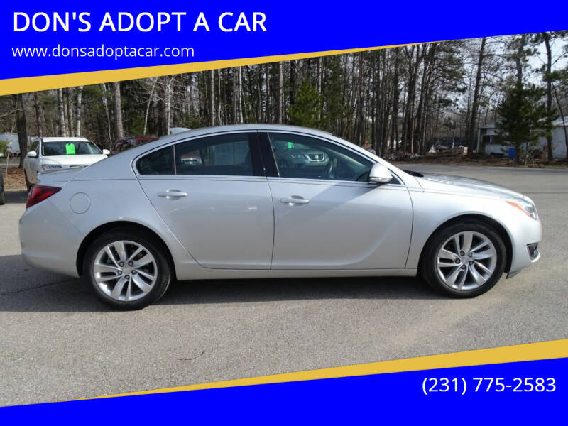 2016 Buick Regal for sale at DON'S ADOPT A CAR in Cadillac MI