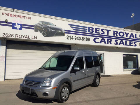2012 Ford Transit Connect for sale at Best Royal Car Sales in Dallas TX