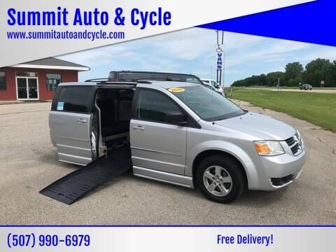 2010 Dodge Grand Caravan for sale at Summit Auto & Cycle in Zumbrota MN