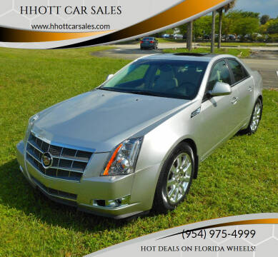 2008 Cadillac CTS for sale at HHOTT CAR SALES in Deerfield Beach FL