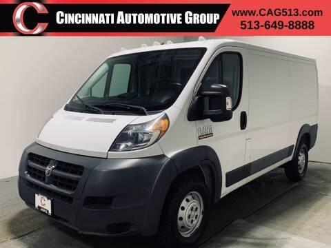 2016 RAM ProMaster Cargo for sale at Cincinnati Automotive Group in Lebanon OH