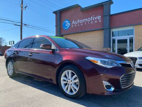 2014 Toyota Avalon for sale at Automotive Solutions in Louisville KY