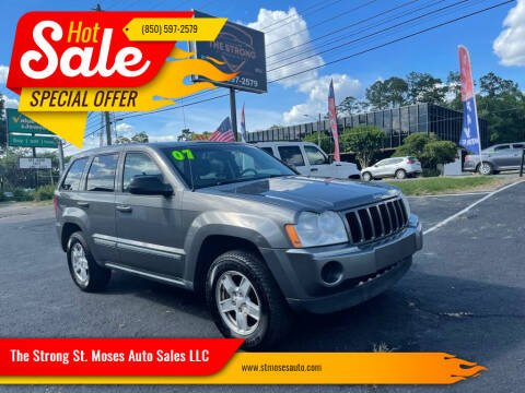 2007 Jeep Grand Cherokee for sale at The Strong St. Moses Auto Sales LLC in Tallahassee FL