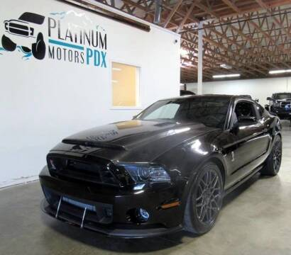 2013 Ford Shelby GT500 for sale at Platinum Motors in Portland OR