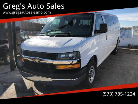 2019 Chevrolet Express Passenger for sale at Greg's Auto Sales in Poplar Bluff MO