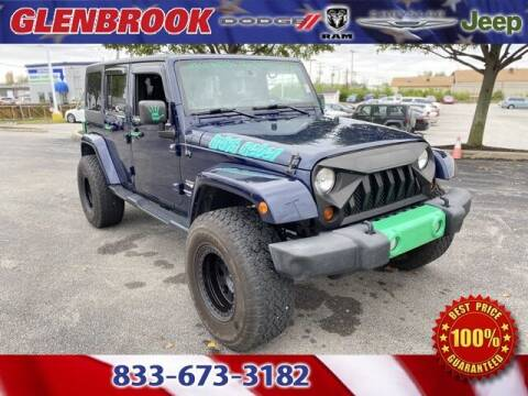 2013 Jeep Wrangler Unlimited for sale at Glenbrook Dodge Chrysler Jeep Ram and Fiat in Fort Wayne IN