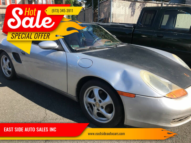 1997 Porsche Boxster for sale at EAST SIDE AUTO SALES INC in Paterson NJ